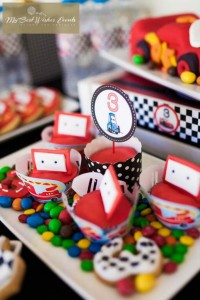 Disney Cars Party via Kara's Party Ideas | Kara'sPartyIdeas.com #Disney #RaceCar #Party #Idea #mybestwishes (33)