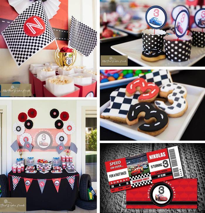 Kara S Party Ideas Car Themed 1st Birthday Party Via Kara: Kara's Party Ideas Disney Cars Party With LOTS Of FUN