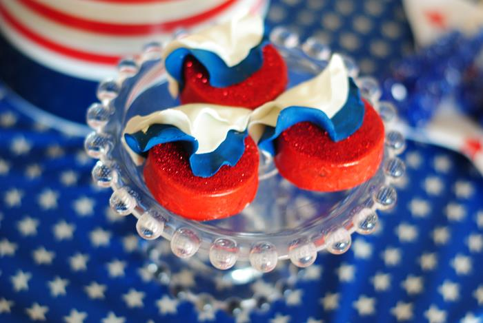 Red White And Celebrate 4th Of July Birthday Party Via Karas Ideas
