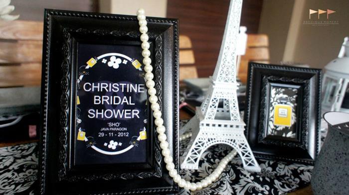 Kara S Party Ideas Chanel Bridal Shower Bachelorette Party