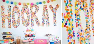 Confetti Birthday Bash via Kara's Party Ideas | Kara'sPartyIdeas.com #birthday #party #planning #ideas #decorations (2)