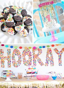 Confetti Birthday Bash with LOTS of FUN IDEAS via Kara's Party Ideas | Kara'sPartyIdeas.com #birthday #party #planning #ideas #decorations (1)