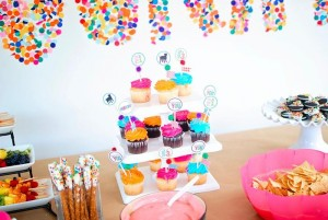 Confetti Birthday Bash via Kara's Party Ideas | Kara'sPartyIdeas.com #birthday #party #planning #ideas #decorations (15)