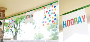 Confetti Birthday Bash via Kara's Party Ideas | Kara'sPartyIdeas.com #birthday #party #planning #ideas #decorations (11)