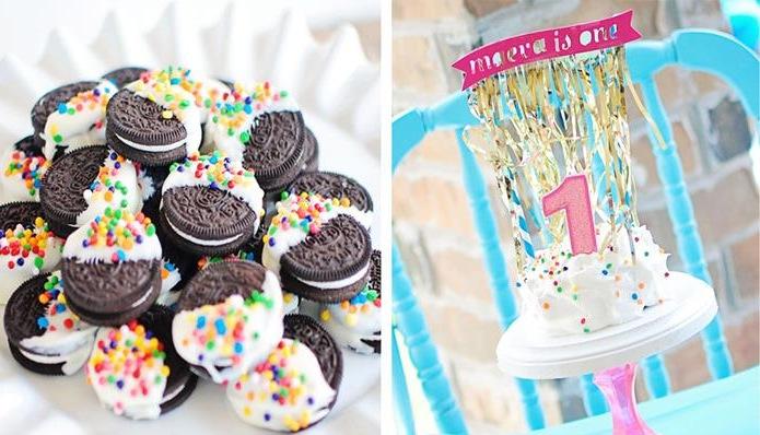 Kara S Party Ideas Confetti Bash Birthday Party Planning