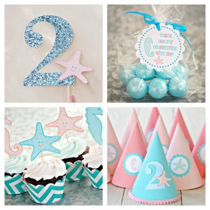 Under the Sea Party via Kara's Party Ideas #UnderTheSea #ocean #party #decorations #idea (8)