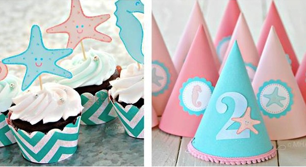 Karas Party Ideas Under The Sea Ocean Girl 2nd Birthday Planning Decorations