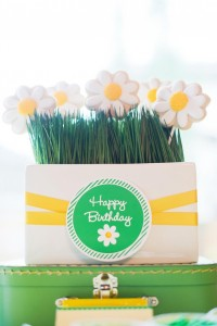 Little Daisy Party via Kara's Party Ideas | Kara'sPartyIdeas.com #Daisy #Party #Baby #Shower #Idea (11)