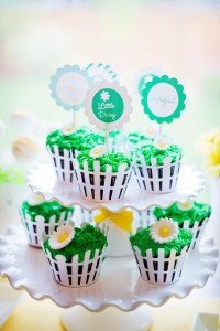 Little Daisy Party via Kara's Party Ideas | Kara'sPartyIdeas.com #Daisy #Party #Baby #Shower #Idea (10)
