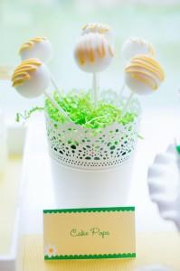 Little Daisy Party via Kara's Party Ideas | Kara'sPartyIdeas.com #Daisy #Party #Baby #Shower #Idea (9)