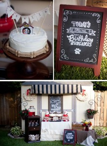 Dog Birthday Party #planning #idea #decorations #bones #cake (29)
