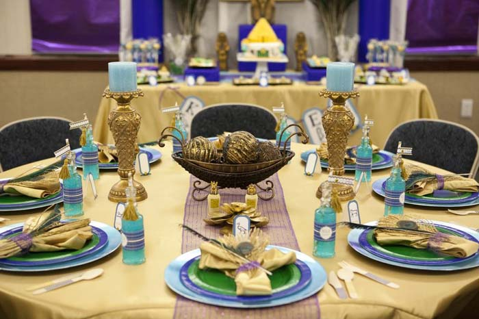Karas Party Ideas Egyptian Spa Party via Karas Party Ideas
