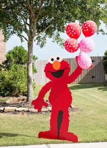 Pink Elmo Party #planning #idea #SesameStreet #decorations #pink (11)