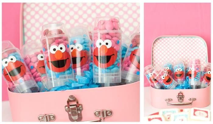 Pink Elmo Party Planning Idea SesameStreet Decorations 2