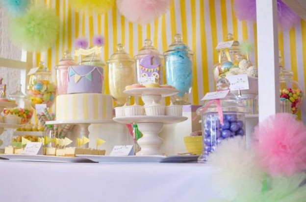 Fairyfloss Cotton Candy Baby Shower via Kara's Party Ideas | Kara'sPartyIdeas.com #CottonCandy #Fairyfloss #Party #Ideas #SugarCoatedMama (43)