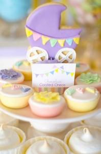 Fairyfloss Cotton Candy Baby Shower via Kara's Party Ideas | Kara'sPartyIdeas.com #CottonCandy #Fairyfloss #Party #Ideas #SugarCoatedMama (40)
