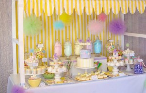 Fairyfloss Cotton Candy Baby Shower via Kara's Party Ideas | Kara'sPartyIdeas.com #CottonCandy #Fairyfloss #Party #Ideas #SugarCoatedMama (36)
