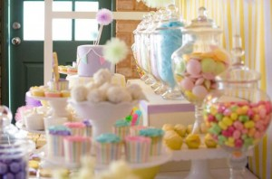Fairyfloss Cotton Candy Baby Shower via Kara's Party Ideas | Kara'sPartyIdeas.com #CottonCandy #Fairyfloss #Party #Ideas #SugarCoatedMama (35)