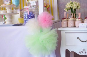 Fairyfloss Cotton Candy Baby Shower via Kara's Party Ideas | Kara'sPartyIdeas.com #CottonCandy #Fairyfloss #Party #Ideas #SugarCoatedMama (27)