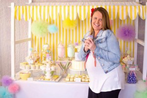 Fairyfloss Cotton Candy Baby Shower via Kara's Party Ideas | Kara'sPartyIdeas.com #CottonCandy #Fairyfloss #Party #Ideas #SugarCoatedMama (16)