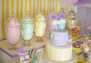 Fairyfloss Cotton Candy Baby Shower via Kara's Party Ideas | Kara'sPartyIdeas.com #CottonCandy #Fairyfloss #Party #Ideas #SugarCoatedMama (14)