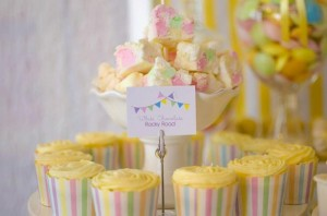 Fairyfloss Cotton Candy Baby Shower via Kara's Party Ideas | Kara'sPartyIdeas.com #CottonCandy #Fairyfloss #Party #Ideas #SugarCoatedMama (13)