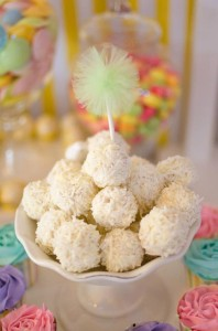 Fairyfloss Cotton Candy Baby Shower via Kara's Party Ideas | Kara'sPartyIdeas.com #CottonCandy #Fairyfloss #Party #Ideas #SugarCoatedMama (12)