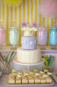 Fairyfloss Cotton Candy Baby Shower via Kara's Party Ideas | Kara'sPartyIdeas.com #CottonCandy #Fairyfloss #Party #Ideas #SugarCoatedMama (10)