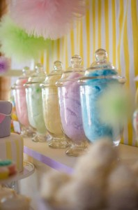 Fairyfloss Cotton Candy Baby Shower via Kara's Party Ideas | Kara'sPartyIdeas.com #CottonCandy #Fairyfloss #Party #Ideas #SugarCoatedMama (7)