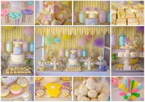 Fairyfloss Cotton Candy Baby Shower with REALLY CUTE IDEAS via Kara's Party Ideas | Kara'sPartyIdeas.com #CottonCandy #Fairyfloss #Party #Ideas #SugarCoatedMama (6)
