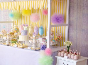Fairyfloss Cotton Candy Baby Shower via Kara's Party Ideas | Kara'sPartyIdeas.com #CottonCandy #Fairyfloss #Party #Ideas #SugarCoatedMama (1)