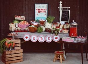 Farmer's Market Party via Kara's Party Ideas | Kara'sPartyIdeas.com #farming #party #idea #boy #girl (28)