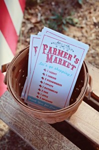 Farmer's Market Party via Kara's Party Ideas | Kara'sPartyIdeas.com #farming #party #idea #boy #girl (27)