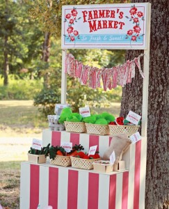 Farmer's Market Party via Kara's Party Ideas | Kara'sPartyIdeas.com #farming #party #idea #boy #girl (26)