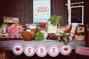 Farmer's Market Party via Kara's Party Ideas | Kara'sPartyIdeas.com #farming #party #idea #boy #girl (20)