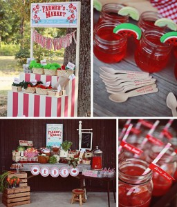 Farmer's Market Party with LOTS of FUN Ideas via Kara's Party Ideas | Kara'sPartyIdeas.com #farming #party #idea #boy #girl (1)