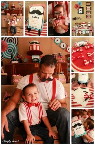 Father Son Mustache Bash with LOTS of CUTE IDEAS via Kara's Party Ides | Kara'sPartyIdeas.com #Father #Son #party #idea (8)