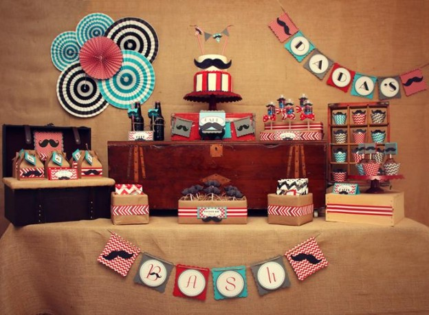 Father Son Mustache Bash via Kara's Party Ides | Kara'sPartyIdeas.com #Father #Son #party #idea (2)