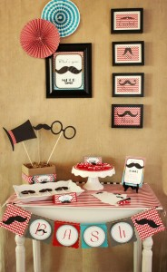 Father Son Mustache Bash via Kara's Party Ides | Kara'sPartyIdeas.com #Father #Son #party #idea (17)