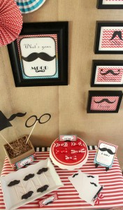 Father Son Mustache Bash via Kara's Party Ides | Kara'sPartyIdeas.com #Father #Son #party #idea (15)