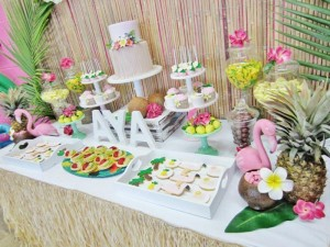 #hawaiian #party #planning #ideas #supplies #cake #decorations #boy #girl (23)