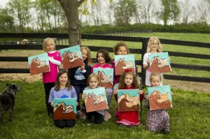 Horse Party Ideas #horse #art #party #ideas #supplies #decorations #cake #girl (30)