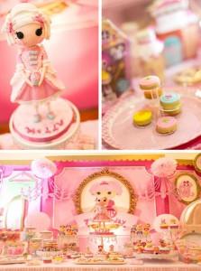 Lalaloopsy Beauty Parlor Party via Kara's Party Ideas #lalaloopsy #spa #makeover #party #planning #idea #decorations