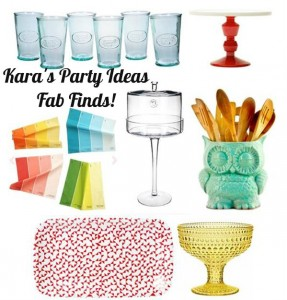 Fab Finds via Kara's Party Ideas #Fab #deals #kitchen #decor