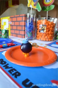 Super Mario Brothers Birthday Party #planning #ideas #decorations #cake #idea (42)