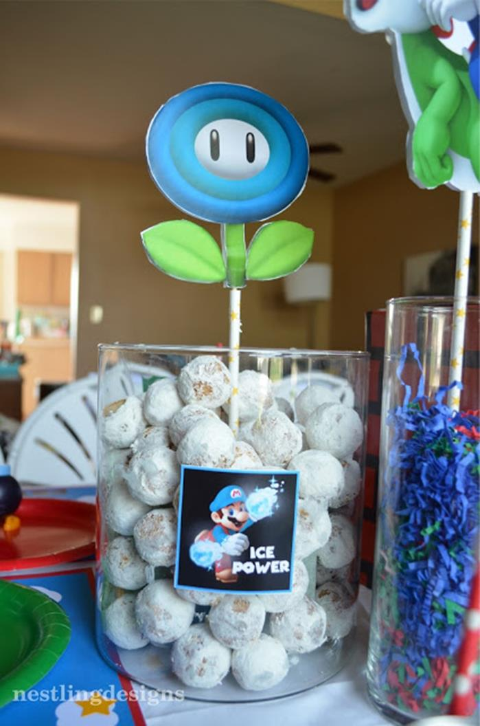 Karas Party Ideas Super Mario Birthday Party via Karas Party