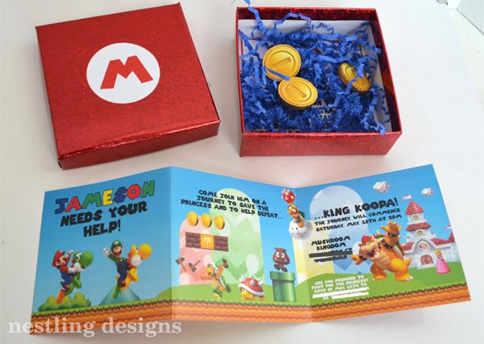 Karas Party Ideas Super Mario Birthday Party via Karas Party