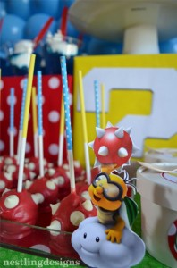Super Mario Brothers Birthday Party #planning #ideas #decorations #cake #idea (14)