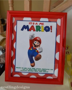 Super Mario Brothers Birthday Party #planning #ideas #decorations #cake #idea (49)