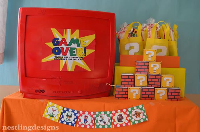 Super Mario Birthday Party Supplies Party City Hours